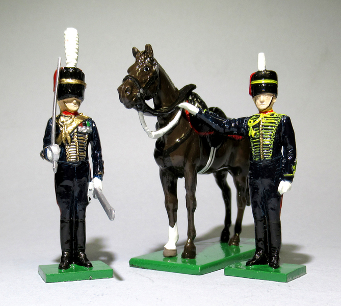 RHA Officer, Gunner and Horse - BTSC-FIG181