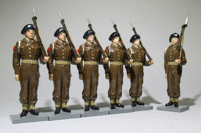 Gibraltar Defence Regiment at Attention - BTSC-SET206