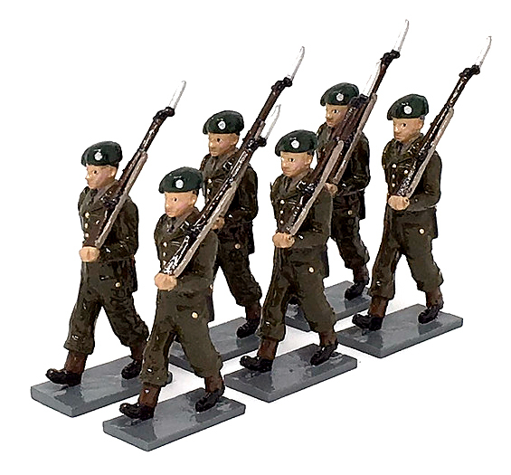 British Army, Standing in Battle Dress, Marching - BTSC-SET215