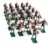 Royal Marines Band, Marching