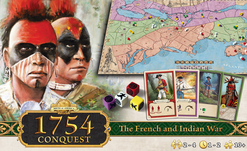 AG1754 Conquest Strategic Board Game