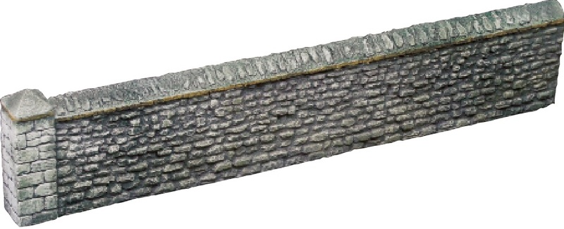 Stone Wall Section