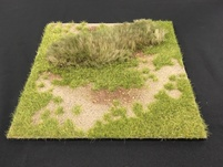 "More about the 'HA2067.3 - 12"" x 12"" Grass Field at Meadow's Edge Scenic Base' product"