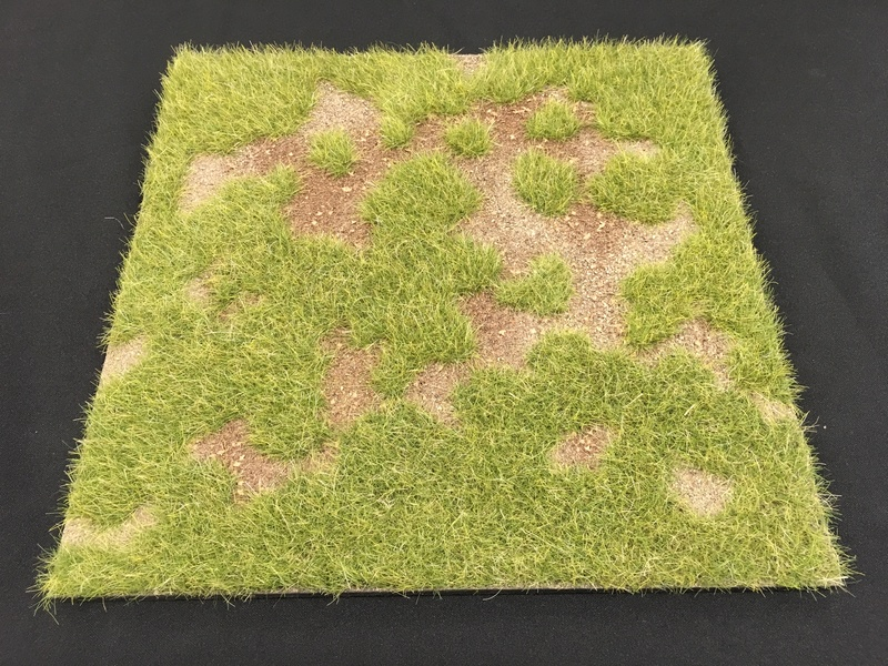 "HA2067 - 12"" x 12"" Grass Field Scenic Base"