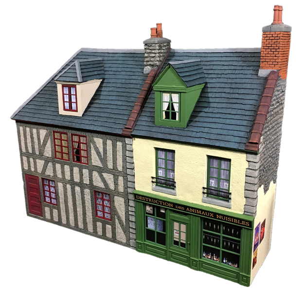 HA2088 - French Bakery and Half Timbered House