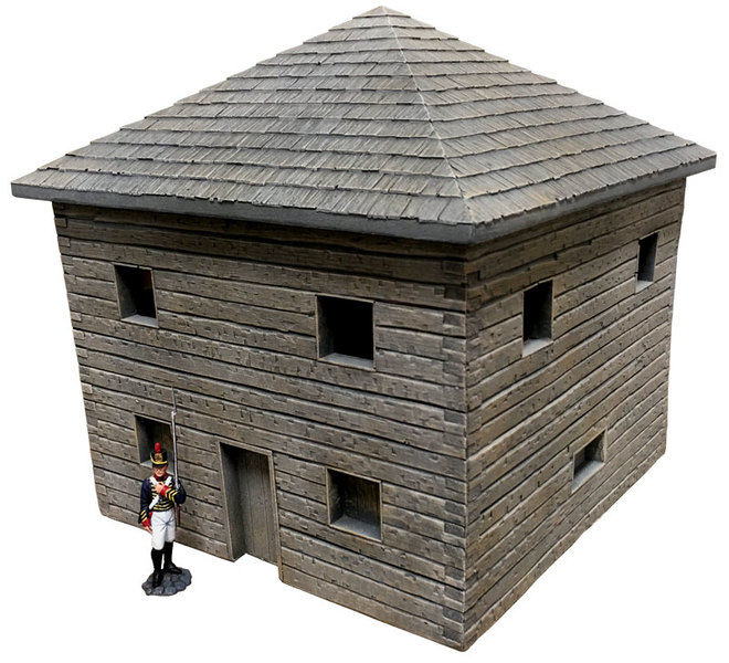 HA2099 - Wooden Frontier Blockhouse