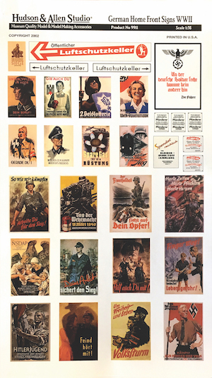 German Home Front Posters WWII