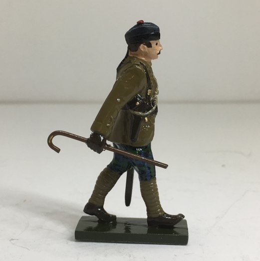 WWI Highland Officer, in trews - BTSC-OFT12