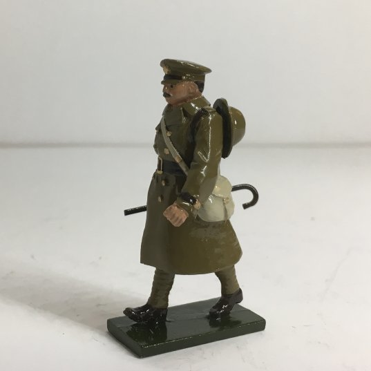 WWI Officer in trench coat, marching - BTSC-OFT6