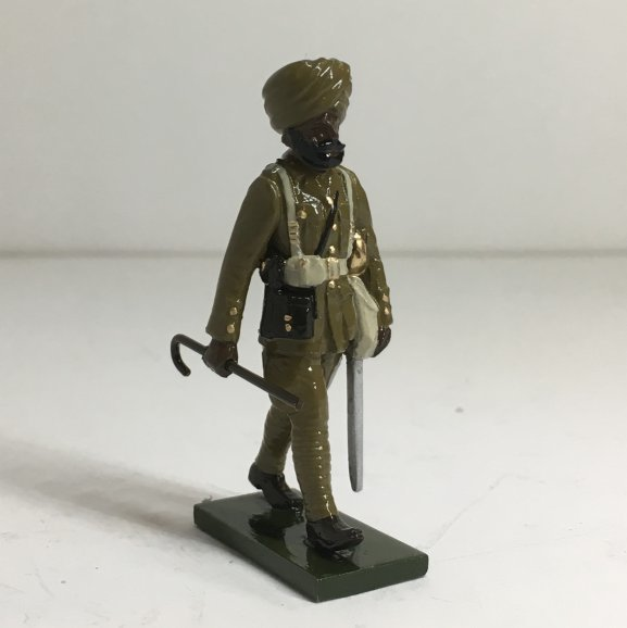WWI Sikh Officer, marching - BTSC-OFT9