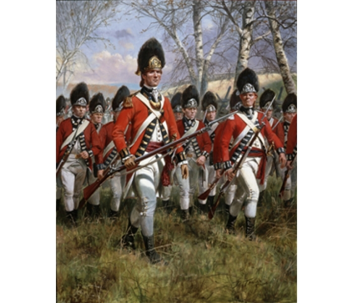 RWF - Royal Welsh Fuzileers, 1775