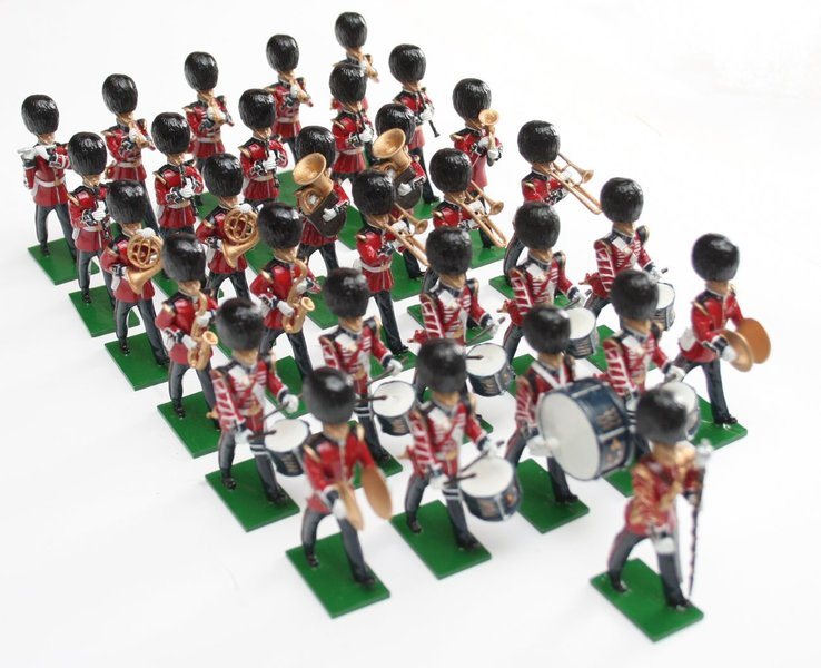 Scots Guards Band, marching - BTSC-SET100