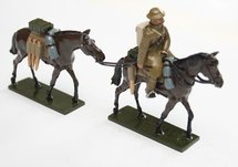 More about the 'WWI Mounted figure leading packhorse - BTSC-SET110' product