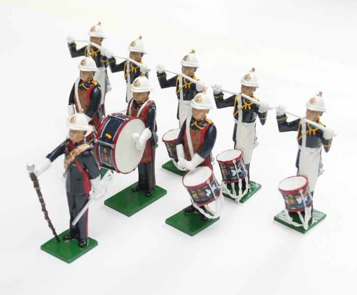Royal Marines Drum Corps, standing - BTSC-SET114