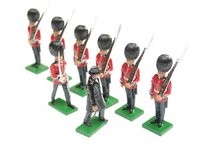 More about the 'Scots Guards, 1 Officer, 6 Guardsmen, Churchill inspecting - BTSC-SET2' product