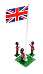 More about the 'Scots Guards Reveille, 3 figures with flagpole - BTSC-SET34' product