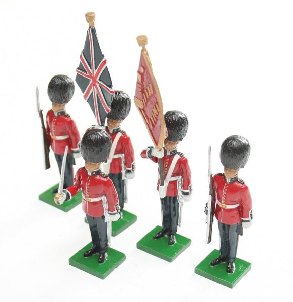 Scots Guards Colour Party at attention - BTSC-SET41