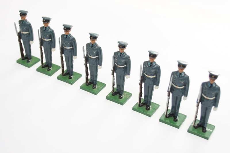 Royal Air Force, 8 standing figures - BTSC-SET48