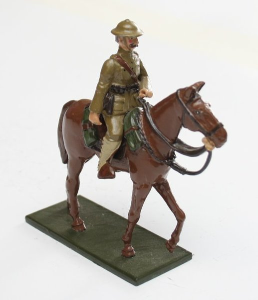 WWI Mounted US Officer - BTSC-SET60