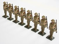 More about the 'WWI Troops, in tin helmet, at attention, rifle over shoulder - BTSC-SET70' product