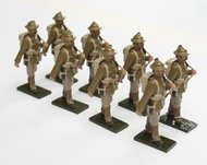 More about the 'WWI Troops, Highland Regiment, in tin helmet, marching, rifle over shoulder - BTSC-SET75' product