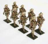 More about the 'WWI Troops, Highland Regiment, in bonnet, marching, rifle over shoulder - BTSC-SET77' product