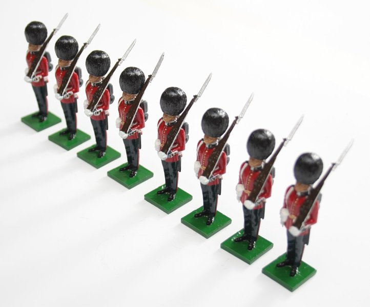 Scots Guards, in Slade Wallace dress, rifle shouldered - BTSC-SET8