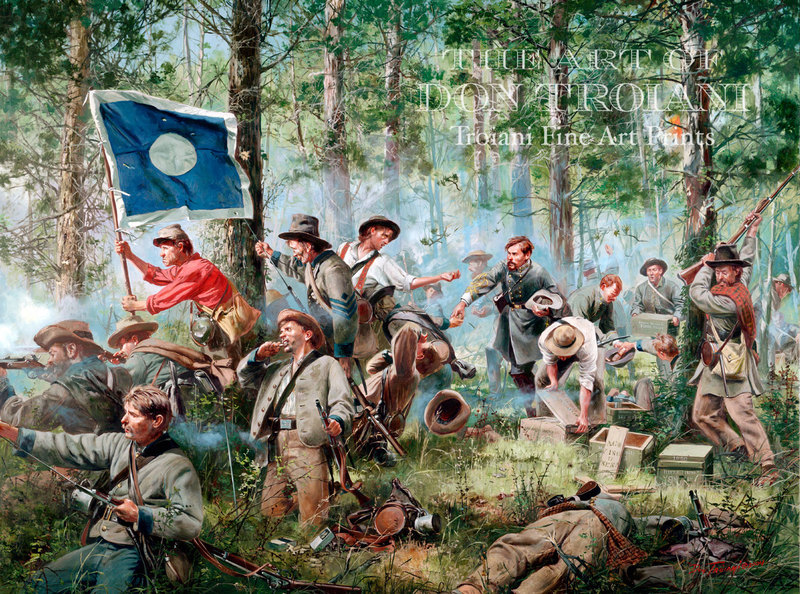 CAC - Cleburne at Chickamauga, 2nd Tennessee Regiment