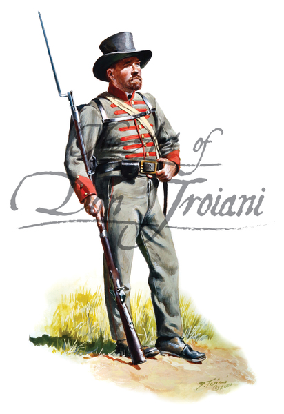 17th Mississippi Infantry, Company I, Pettus Rifles 1861