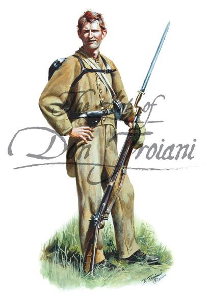 Don Troiani 19th Alabama Regiment, Spring of 1862