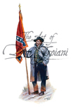 Don Troiani 27th Virginia Infantry, colorbearer, December of 1862