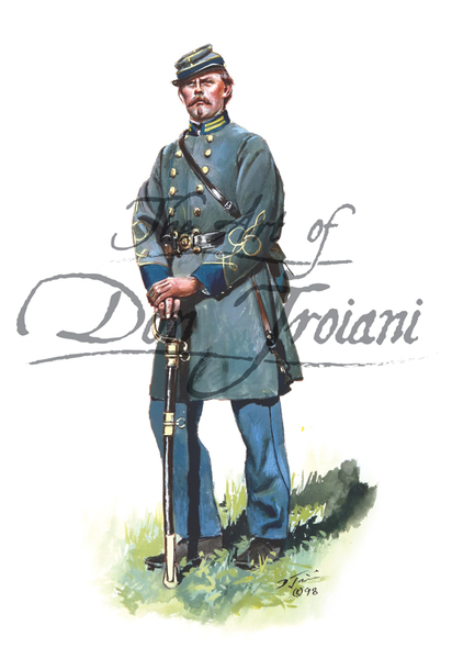 Don Troiani Confederate Infantry Officer