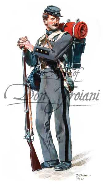 Troiani 8th Company, 7th New York 1861 - American Civil War