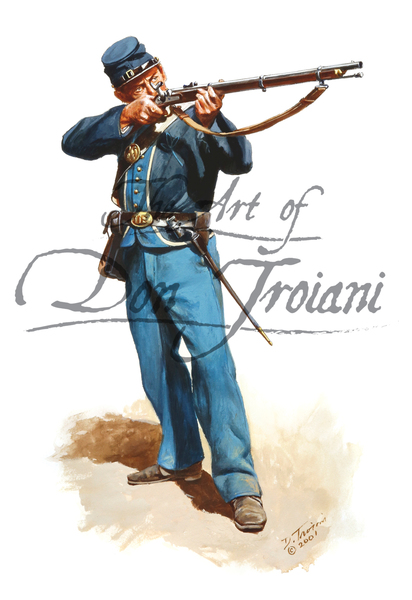 Private of the 12th Indiana Volunteers