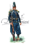 18th Massachusetts Volunteers 1862 wearing the imported French Chasseur uniform