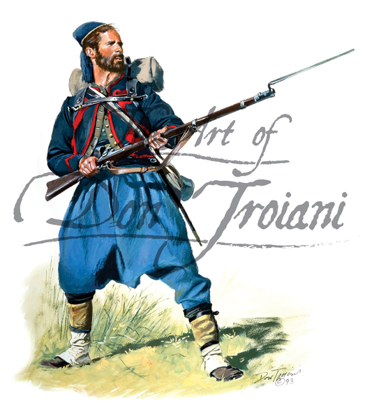 Troiani 76th PA (Keystone Zouaves) - American Civil War