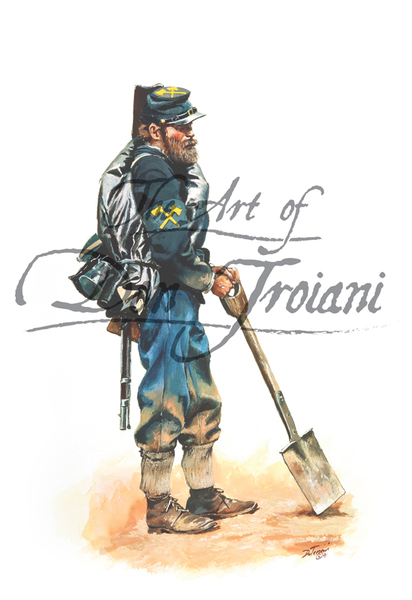 Troiani Army of the Cumberland Pioneer 1864
