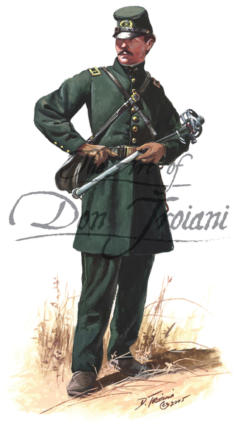 Troiani Officer Berdan's Sharpshooter 1862 - American Civil War