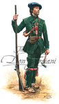 Troiani Roger's Rangers Private 1758 - French & Indian War