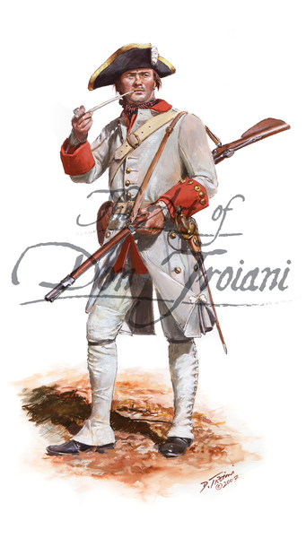 Troiani Fusilier Regt. Berry c.1758 - French & Indian War