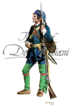 French Naval Infantry Private, 1754