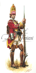 Troiani 44th Regiment of Foot British Grenadier 1755 - French & Indian War