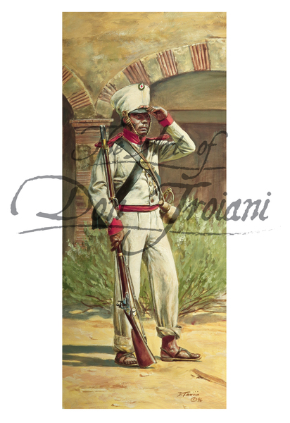 Mexican Soldier 56th Infantry, 1836