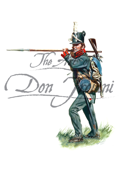 War of 1812: United States Infantry Private of the 15th Regiment 1812-13
