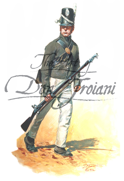 Private, U.S. Infantry Regular 1814, Scott's Brigade