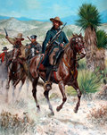 23R12/23RCG - Hay's Regiment Mounted Texas Volunteers, Mexican War, 1847