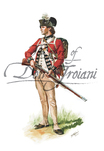 23rd Regiment of Foot Private 1781