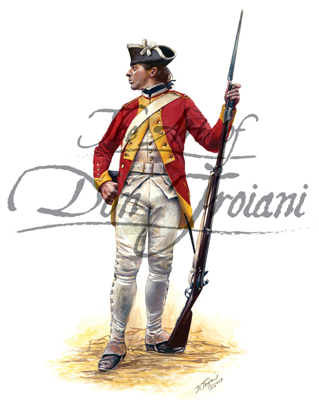 French Army: A Fusilier of the Dillon Regiment