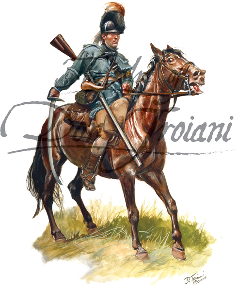 American Army: North Carolina Rifle Dragoon 1780-1781