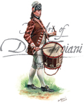 Drummer, 2nd Canadian Regiment (Congress' Own), 1777